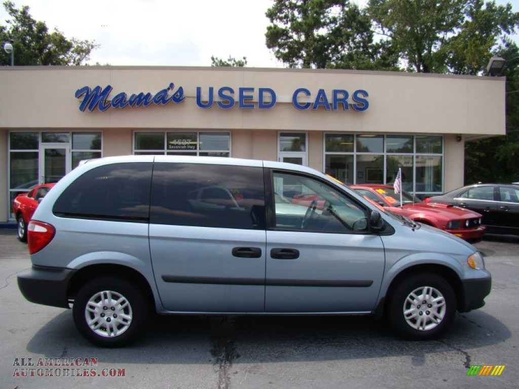 2005 Dodge Caravan Se In Butane Blue Pearl 315714 All