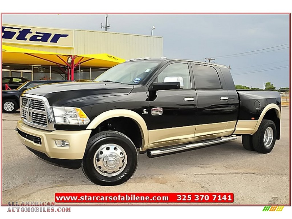 2012 Dodge Ram 3500 HD Laramie Longhorn Mega Cab 4x4 Dually in ...
