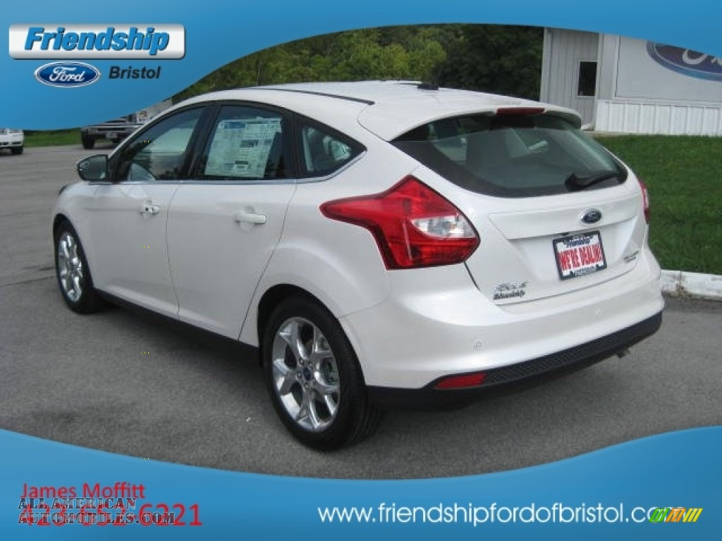 2013 ford focus titanium hatchback in white platinum photo 8 105972 all american. Black Bedroom Furniture Sets. Home Design Ideas