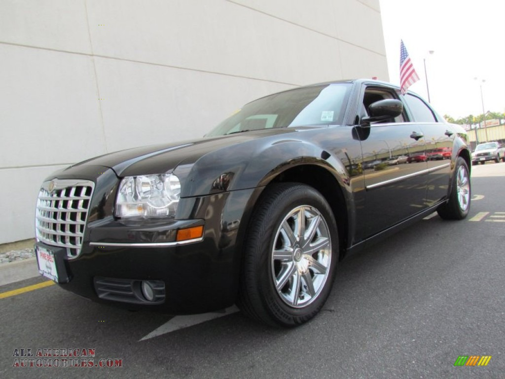 2009 chrysler 300 touring in brilliant black 553479 all american automobiles buy american. Black Bedroom Furniture Sets. Home Design Ideas