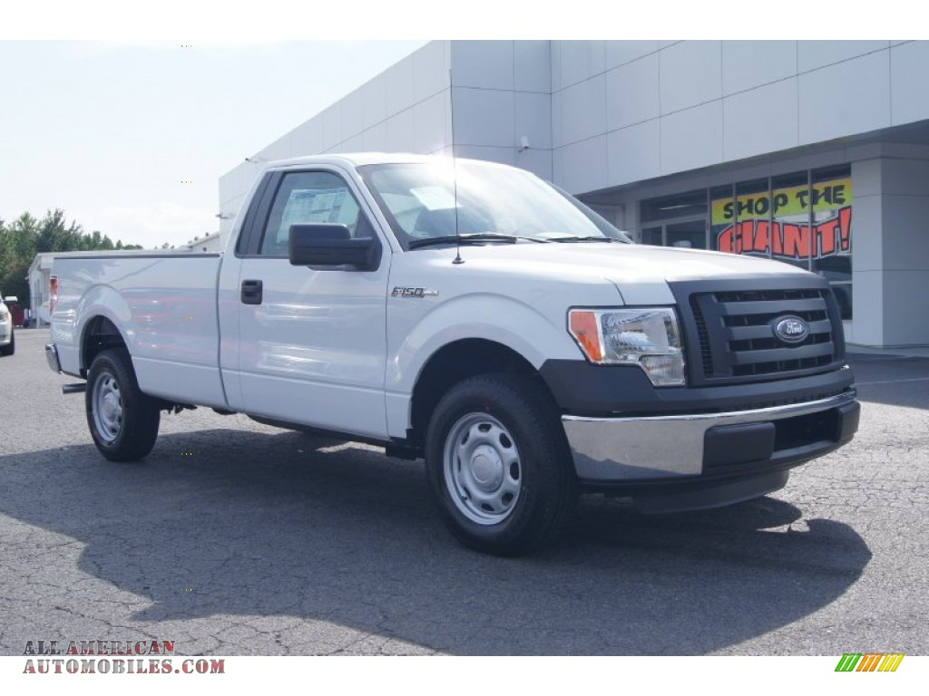 2012 ford f150 xl regular cab in oxford white e28712 all american automobiles buy american. Black Bedroom Furniture Sets. Home Design Ideas