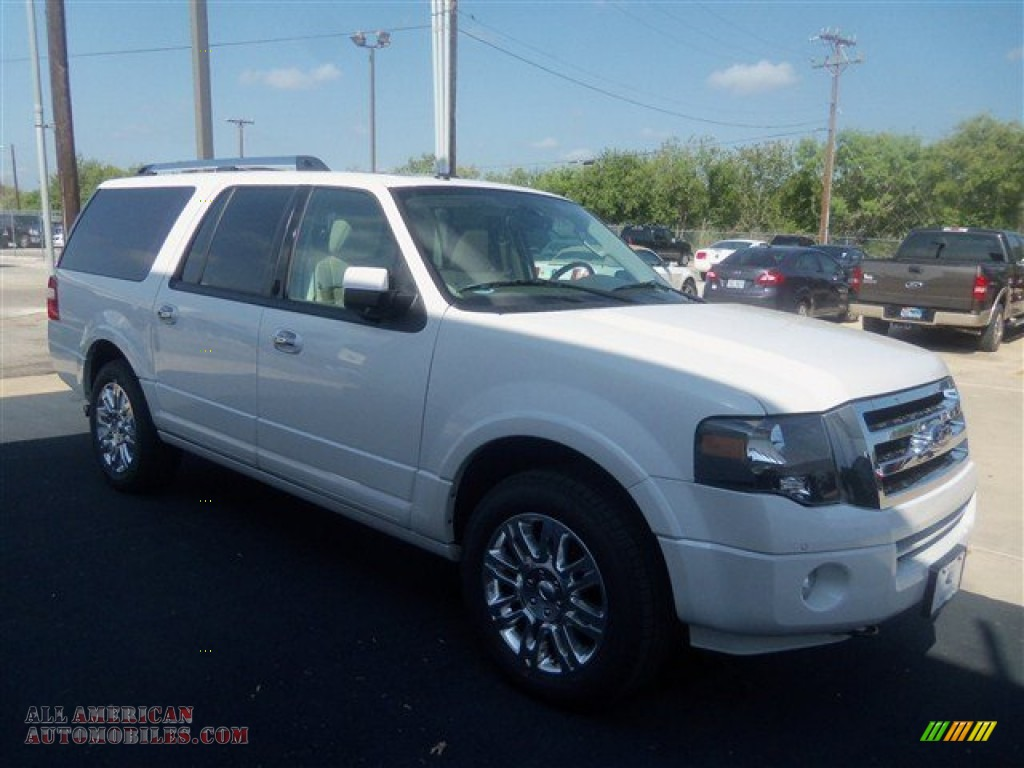 2012 Ford Expedition El Limited 4x4 In White Platinum Tri