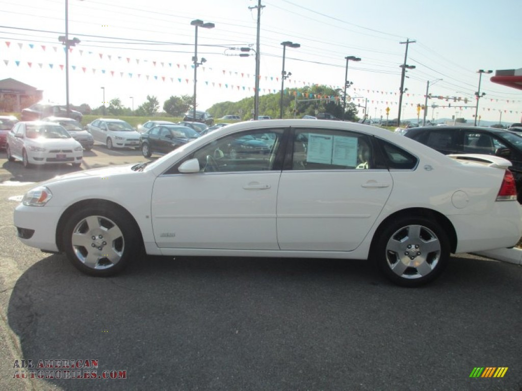2006 chevrolet impala ss in white 180682 all american. Black Bedroom Furniture Sets. Home Design Ideas