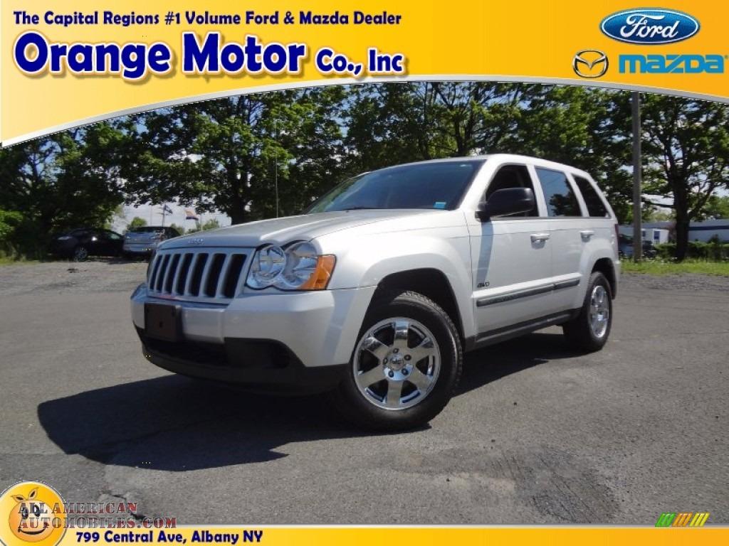 2008 Jeep Grand Cherokee Laredo 4x4 In Bright Silver