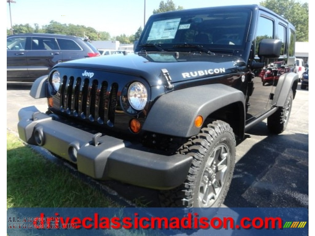 2013 jeep wrangler unlimited rubicon 4x4 in black 519941 all american automobiles buy. Black Bedroom Furniture Sets. Home Design Ideas