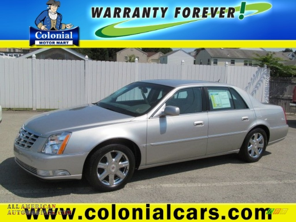 2007 cadillac dts sedan in light platinum 189217 all for Colonial motors indiana pa