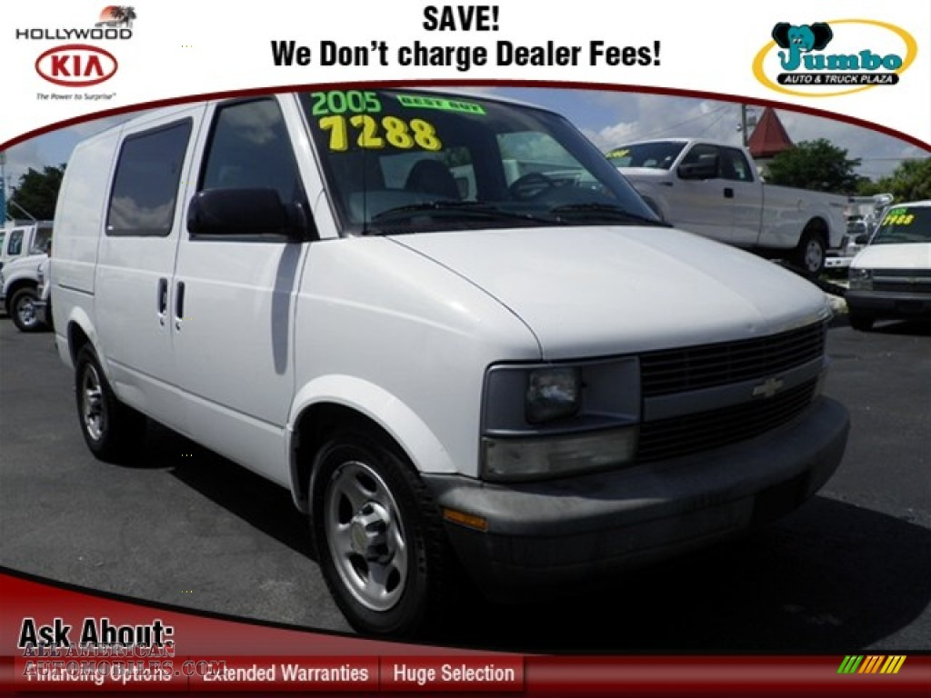 2005 Chevrolet Astro AWD Cargo Van in Summit White ...