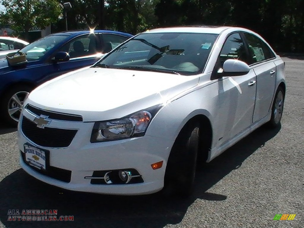 2013 chevrolet cruze ltz rs in summit white 114674 all american automobiles buy american. Black Bedroom Furniture Sets. Home Design Ideas