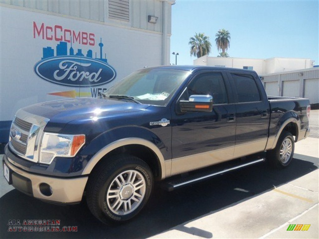 2012 ford f150 king ranch supercrew in dark blue pearl metallic photo 10 d57444 all