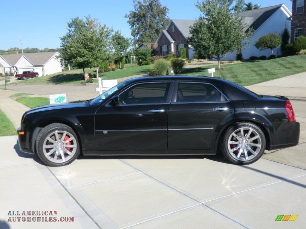 2010 Chrysler 300 Srt8 In Brilliant Black Crystal Pearl