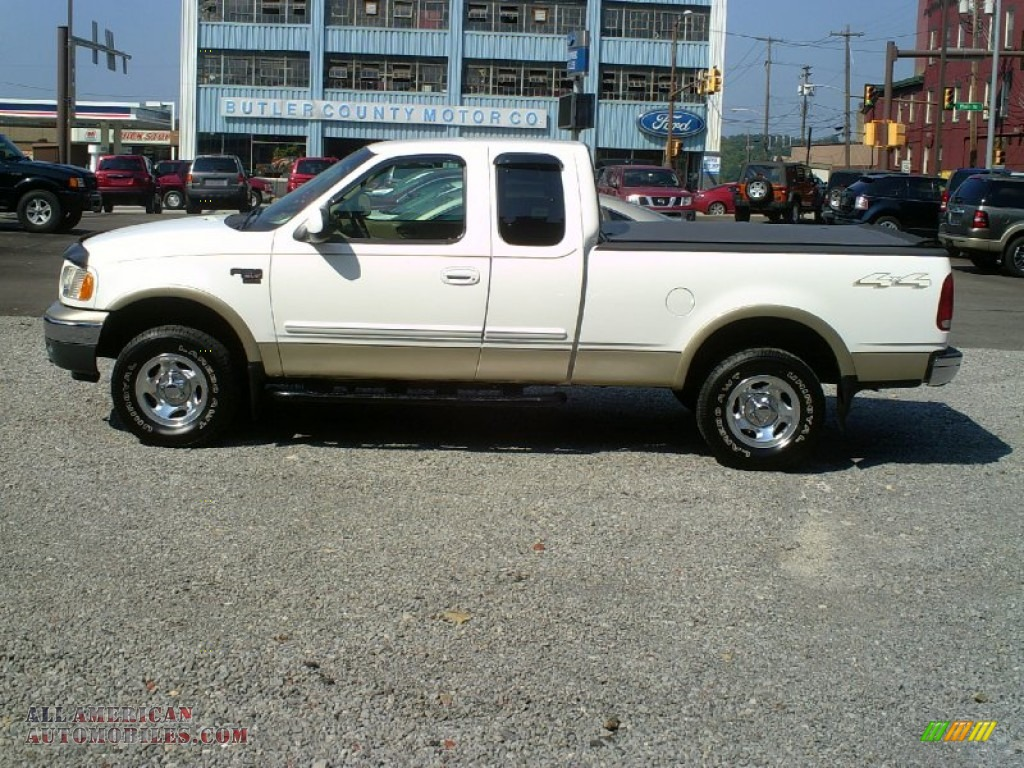 2000 ford f150 xlt extended cab 4x4 in oxford white. Black Bedroom Furniture Sets. Home Design Ideas