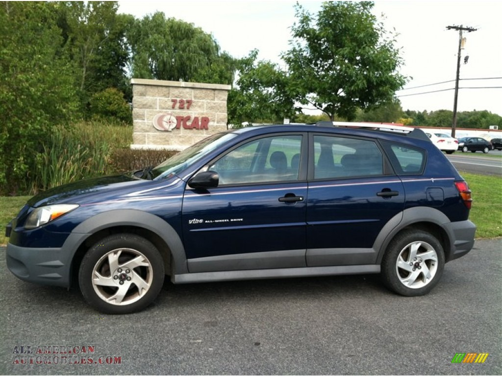 2004 Pontiac Vibe AWD in Neptune Blue - 442079 | All American ...