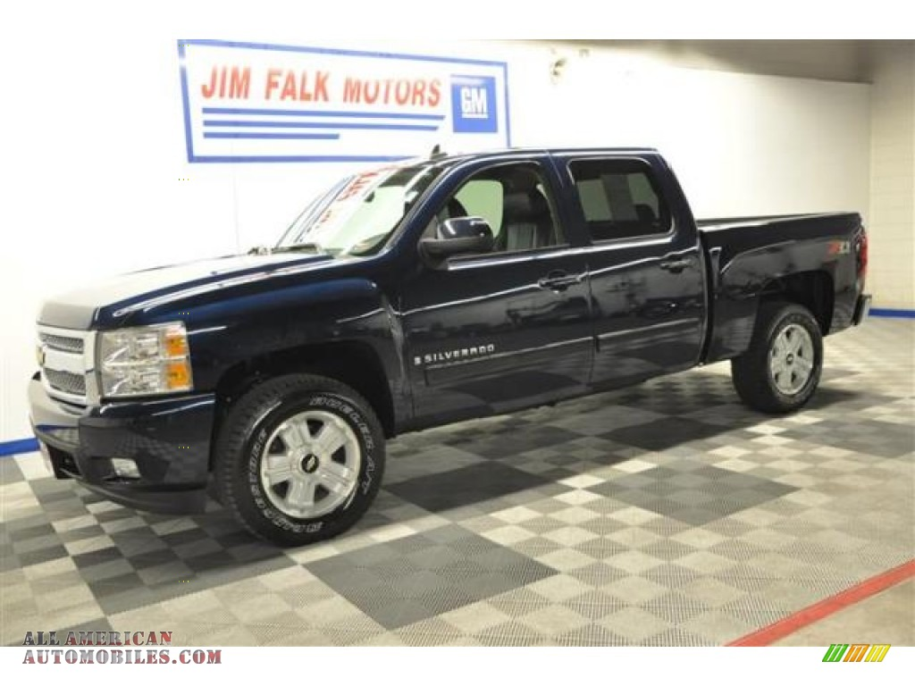 2007 chevrolet silverado 1500 ltz crew cab 4x4 in dark. Black Bedroom Furniture Sets. Home Design Ideas