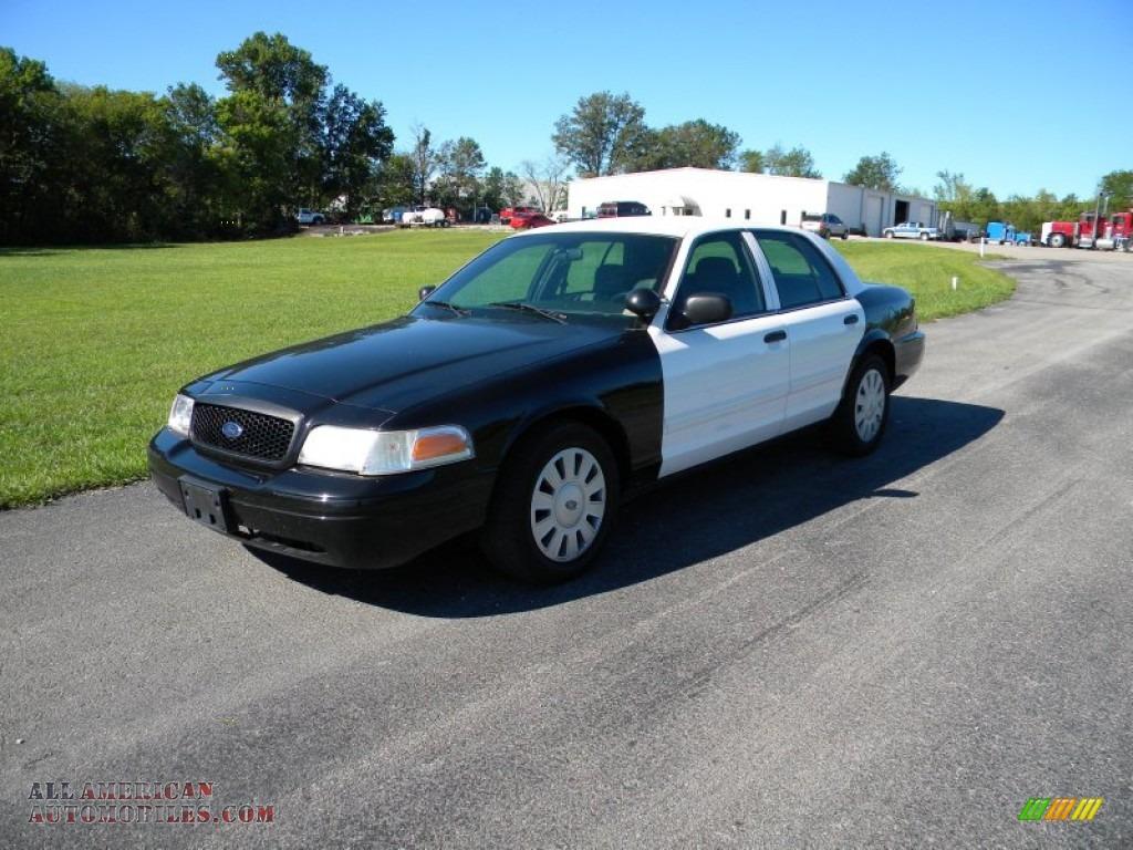 2009 Ford Crown Victoria Police Interceptor In Black White