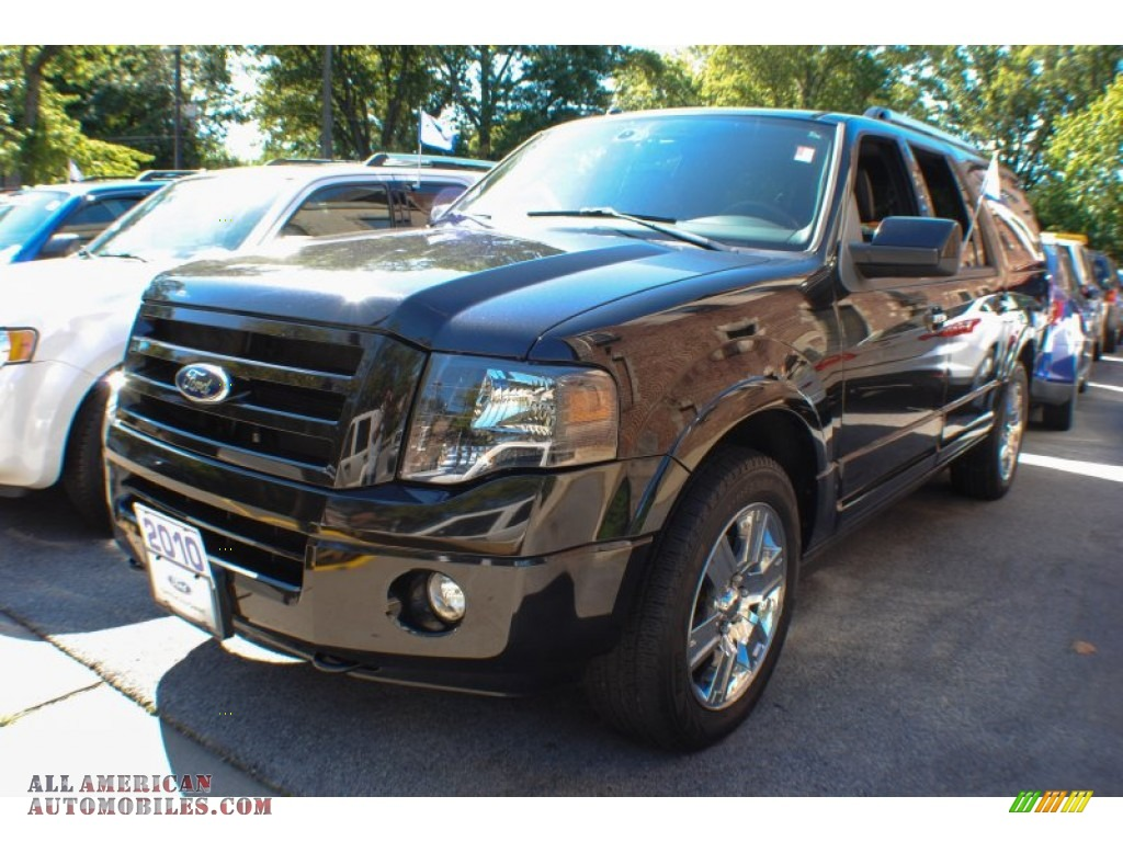 2010 ford expedition el limited 4x4 in tuxedo black b21296 all american automobiles buy. Black Bedroom Furniture Sets. Home Design Ideas
