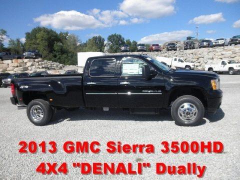 2013 GMC Sierra 3500HD Denali Crew Cab 4x4 Dually in Sonoma Red ...