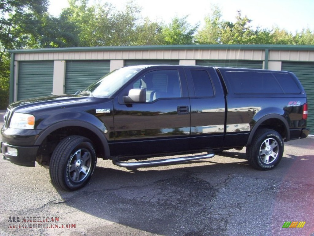 2005 ford f150 fx4 supercab 4x4 in black c77719 all. Black Bedroom Furniture Sets. Home Design Ideas
