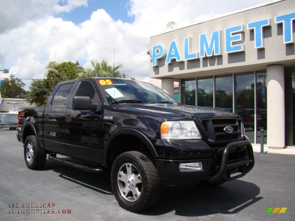 2005 ford f150 fx4 supercrew 4x4 in black photo 2. Black Bedroom Furniture Sets. Home Design Ideas
