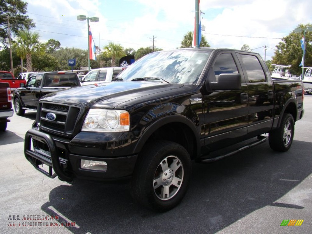 2005 ford f150 fx4 supercrew 4x4 in black photo 4. Black Bedroom Furniture Sets. Home Design Ideas