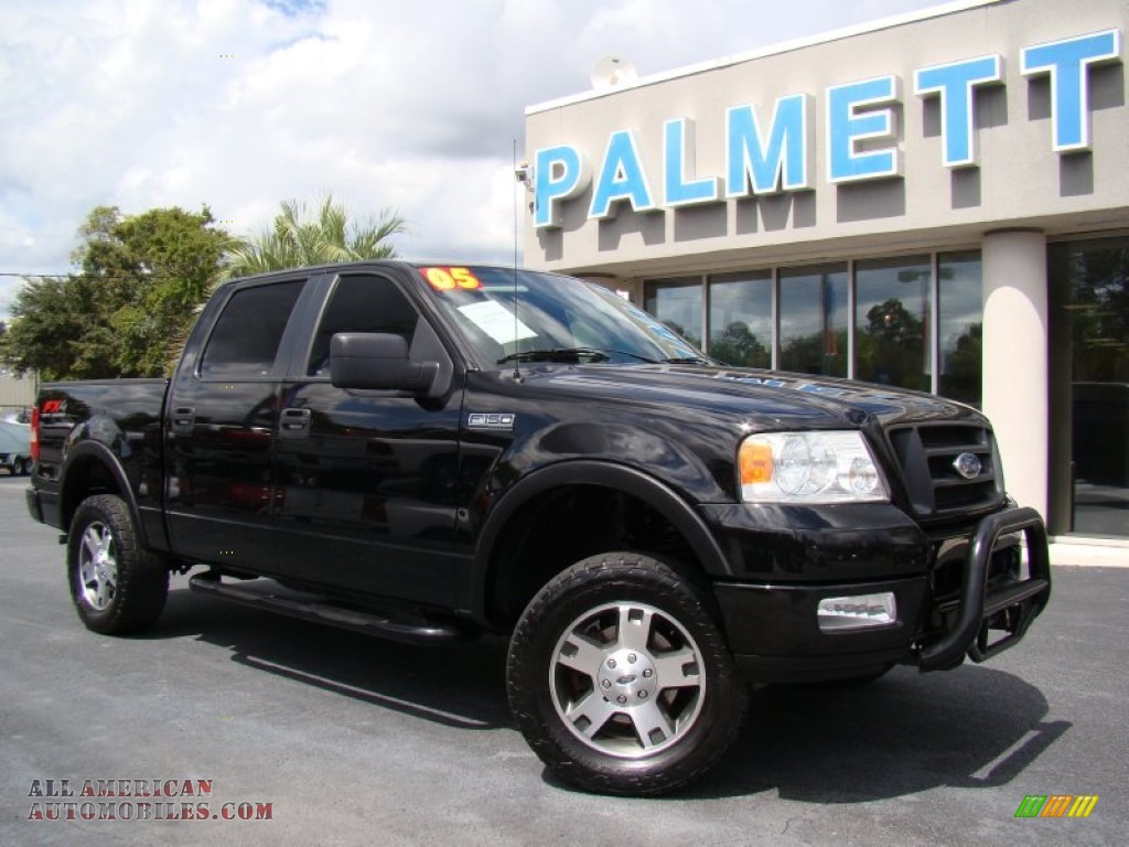 2005 ford f150 fx4 supercrew 4x4 in black photo 27. Black Bedroom Furniture Sets. Home Design Ideas