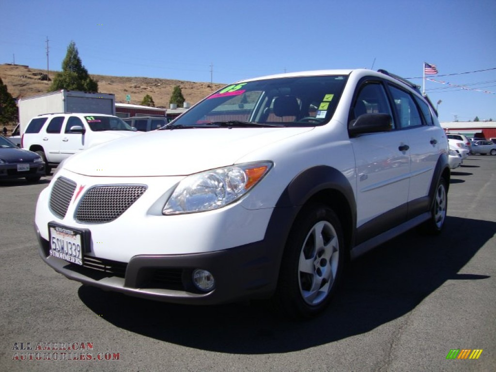 2005 pontiac vibe in frosty white photo 3 453142 all american automobiles buy american. Black Bedroom Furniture Sets. Home Design Ideas