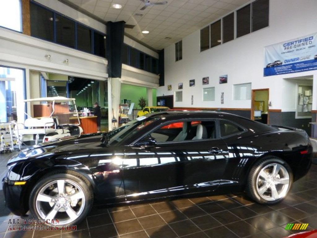 2011 Chevrolet Camaro Lt Coupe In Black Photo 5 144487