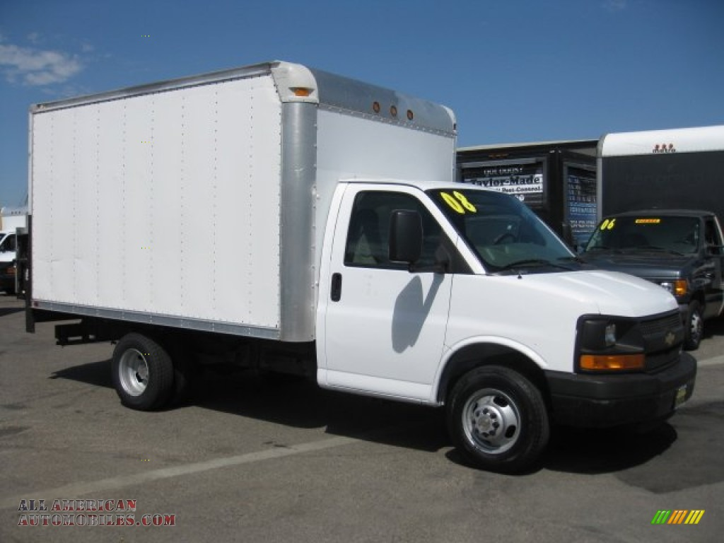 Pine Belt Chevy >> 2008 Chevrolet Express Cutaway 3500 Commercial Moving Van ...