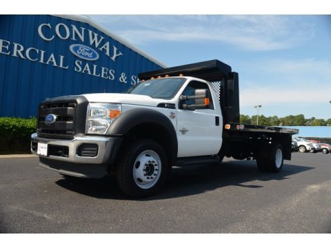Oxford White 2012 Ford F450 Super Duty XL Regular Cab Chassis 4x4