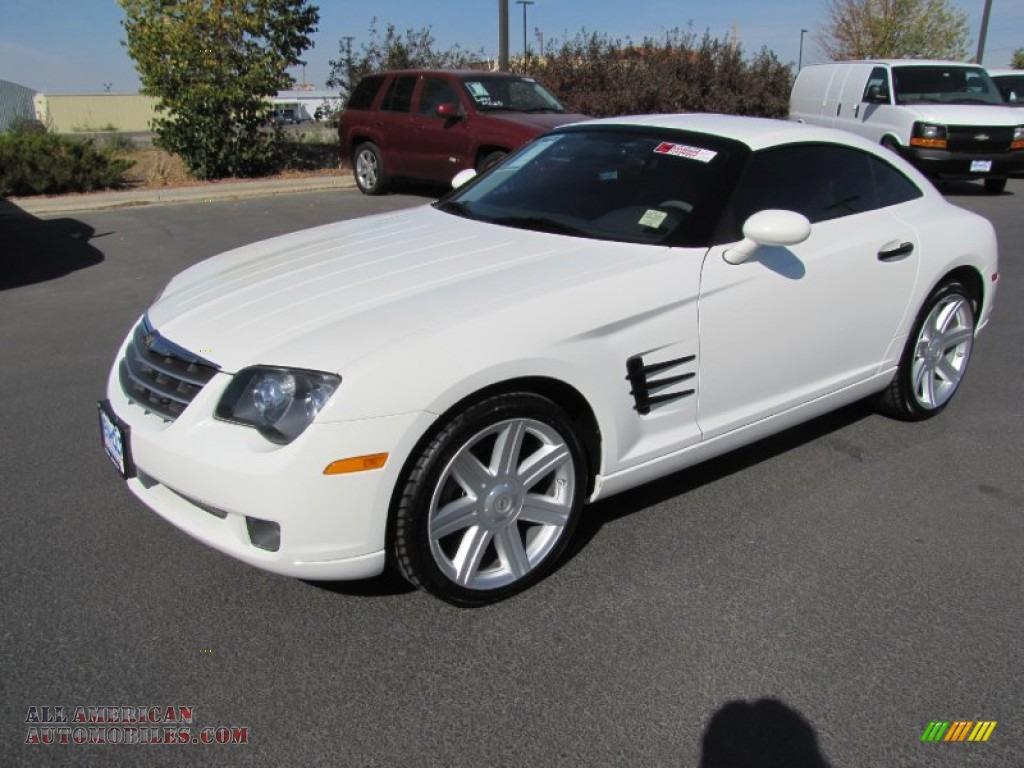 2004 Chrysler Crossfire Limited Coupe In Alabaster White