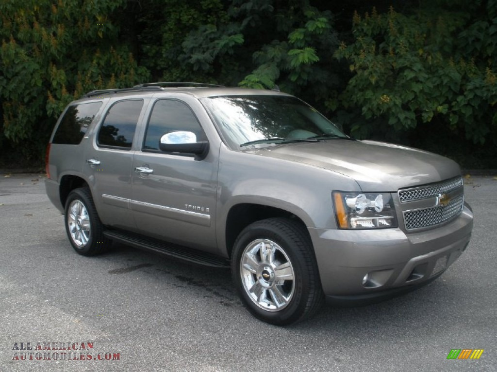 2009 chevrolet tahoe ltz in graystone metallic 139912 all american automobiles buy. Black Bedroom Furniture Sets. Home Design Ideas