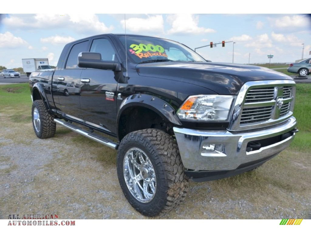 2012 dodge ram 2500 hd slt mega cab 4x4 in black photo 12 200553 all american automobiles. Black Bedroom Furniture Sets. Home Design Ideas