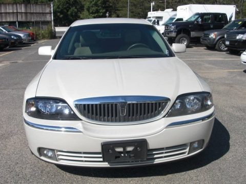 Ceramic White Pearlescent 2005 Lincoln LS V6 Luxury