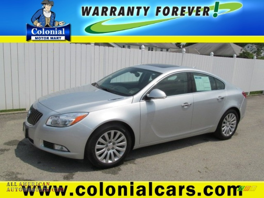 2012 buick regal in quicksilver metallic 122831 all for Colonial motors indiana pa