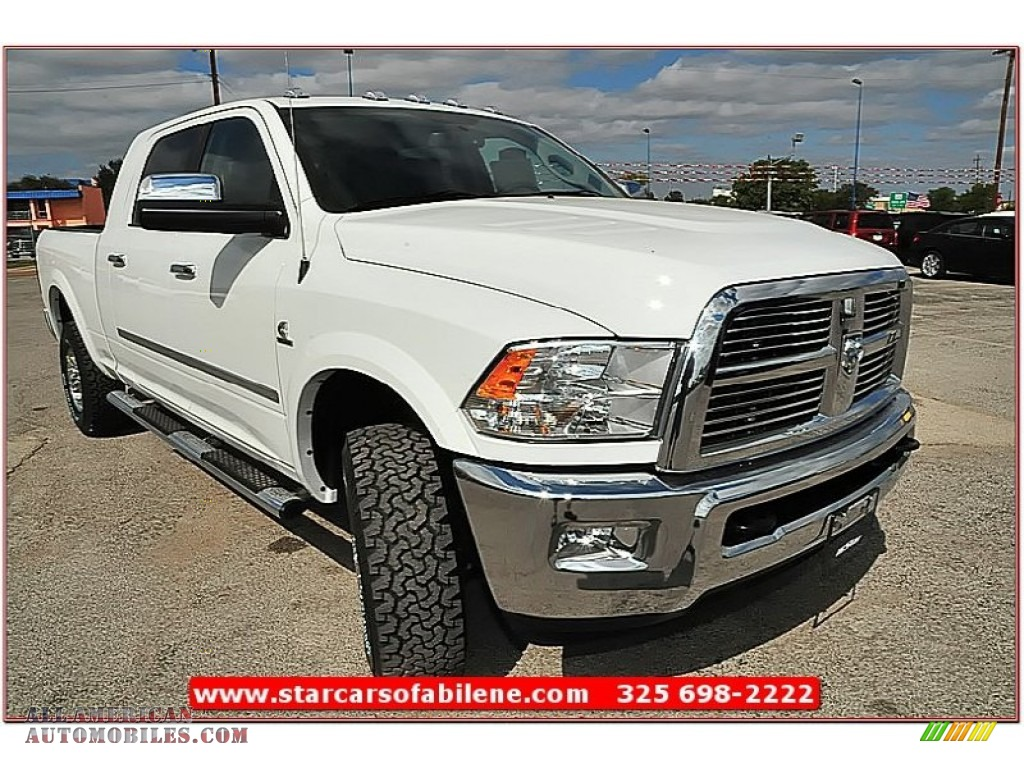 2012 dodge ram 2500 hd laramie limited mega cab 4x4 in bright white photo 8 296315 all. Black Bedroom Furniture Sets. Home Design Ideas