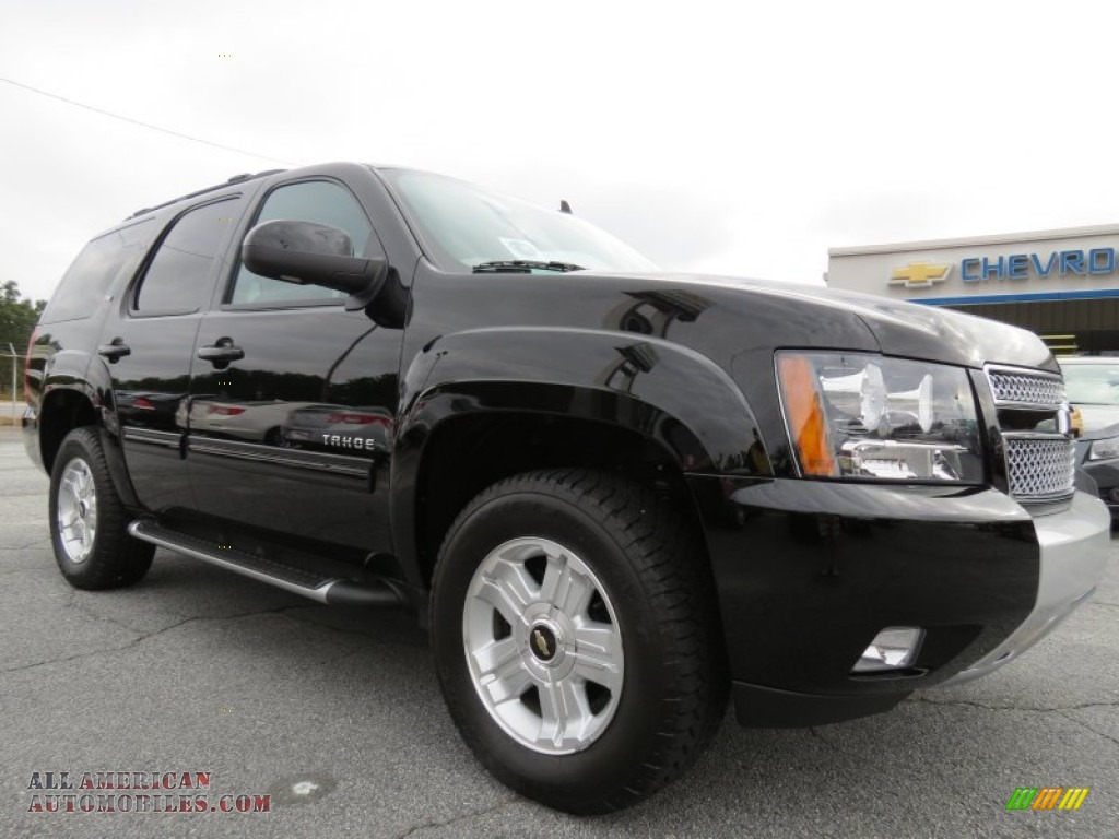 2012 chevrolet tahoe z71 4x4 in black photo 9 318937 all american automobiles buy. Black Bedroom Furniture Sets. Home Design Ideas