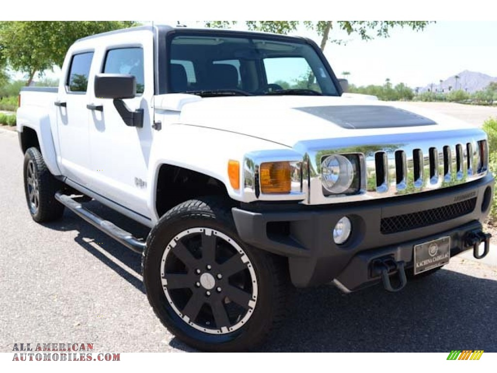 2010 hummer h3 t alpha in birch white 114531 all american automobiles buy american cars. Black Bedroom Furniture Sets. Home Design Ideas
