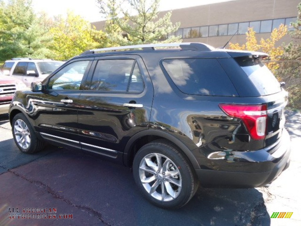 2013 ford explorer xlt 4wd in tuxedo black metallic photo 4 b42775 all american automobiles. Black Bedroom Furniture Sets. Home Design Ideas