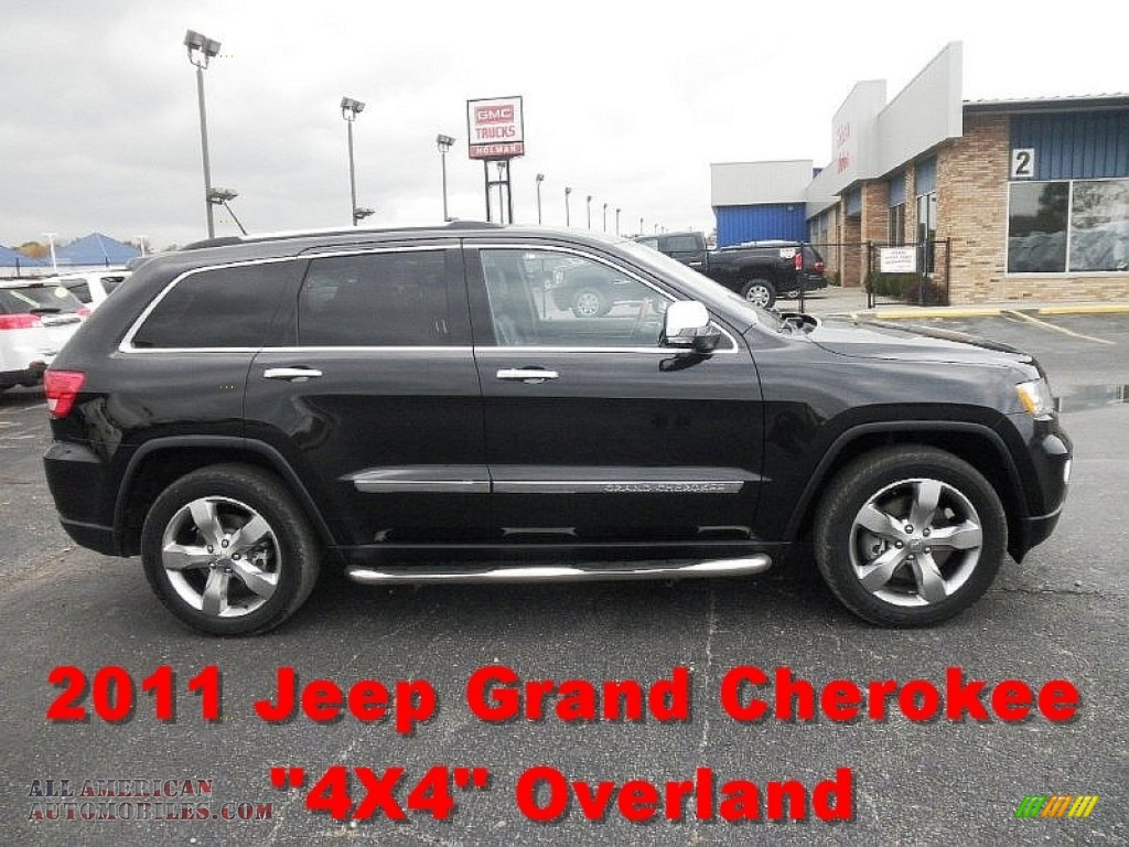 2011 jeep grand cherokee overland summit 4x4 in dark charcoal pearl 536000 all american. Black Bedroom Furniture Sets. Home Design Ideas