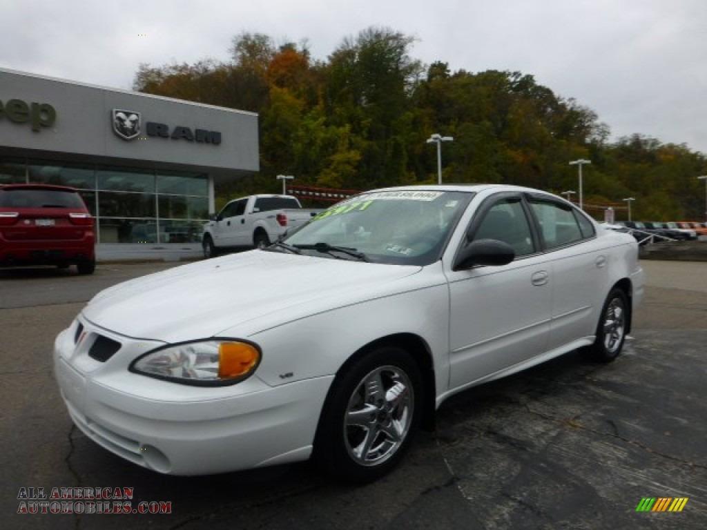 2004 pontiac grand am se sedan in summit white 703559 all american automobiles buy. Black Bedroom Furniture Sets. Home Design Ideas