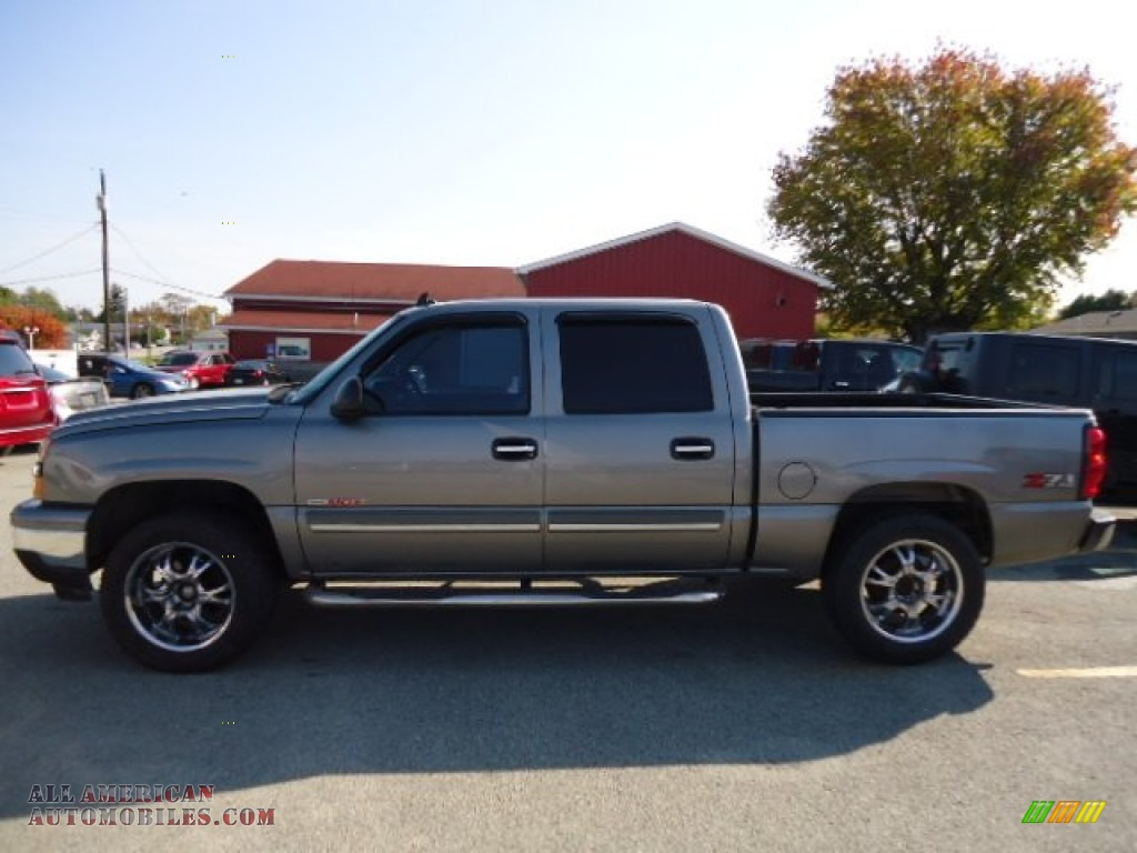 2006 chevrolet silverado 1500 z71 crew cab 4x4 in graystone metallic photo 2 199907 all. Black Bedroom Furniture Sets. Home Design Ideas