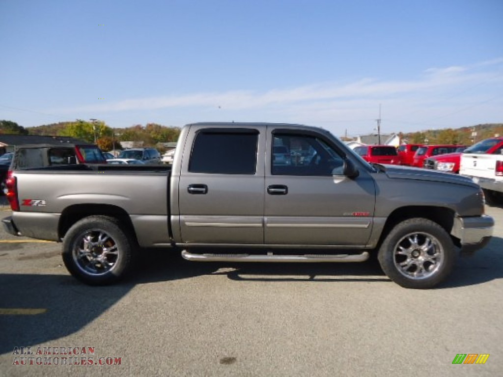 2006 chevrolet silverado 1500 z71 crew cab 4x4 in graystone metallic photo 6 199907 all. Black Bedroom Furniture Sets. Home Design Ideas