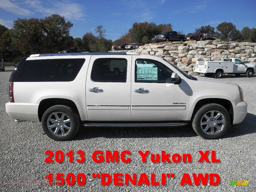 2013 gmc yukon xl denali awd white diamond tricoat color cocoa apps. Cars Review. Best American Auto & Cars Review