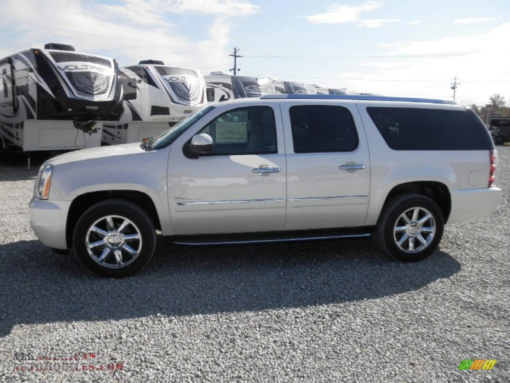 2013 gmc yukon xl denali awd in white diamond tricoat photo 4 185751 all american. Black Bedroom Furniture Sets. Home Design Ideas