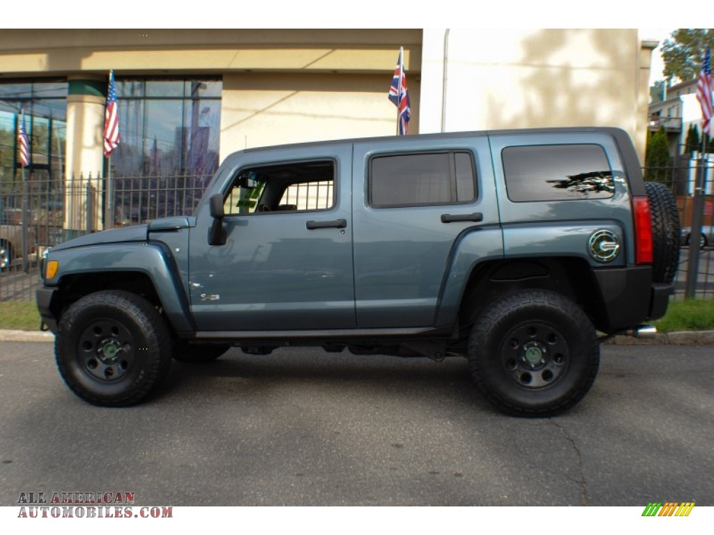 2006 Hummer H3 In Slate Blue Metallic Photo 3 282011 All American Automobiles Buy