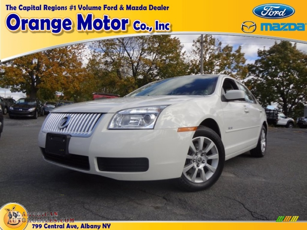 2008 mercury milan v6 in white suede 618666 all for Orange motors albany new york