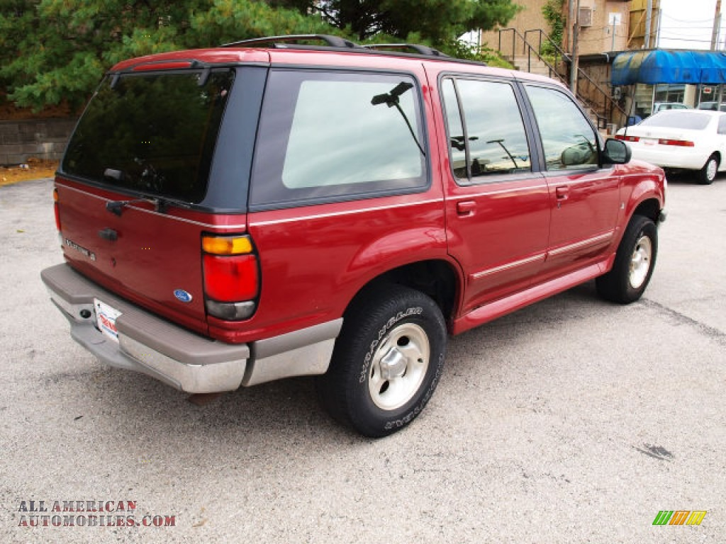 1996 ford explorer xlt 4x4 in electric red metallic photo. Black Bedroom Furniture Sets. Home Design Ideas
