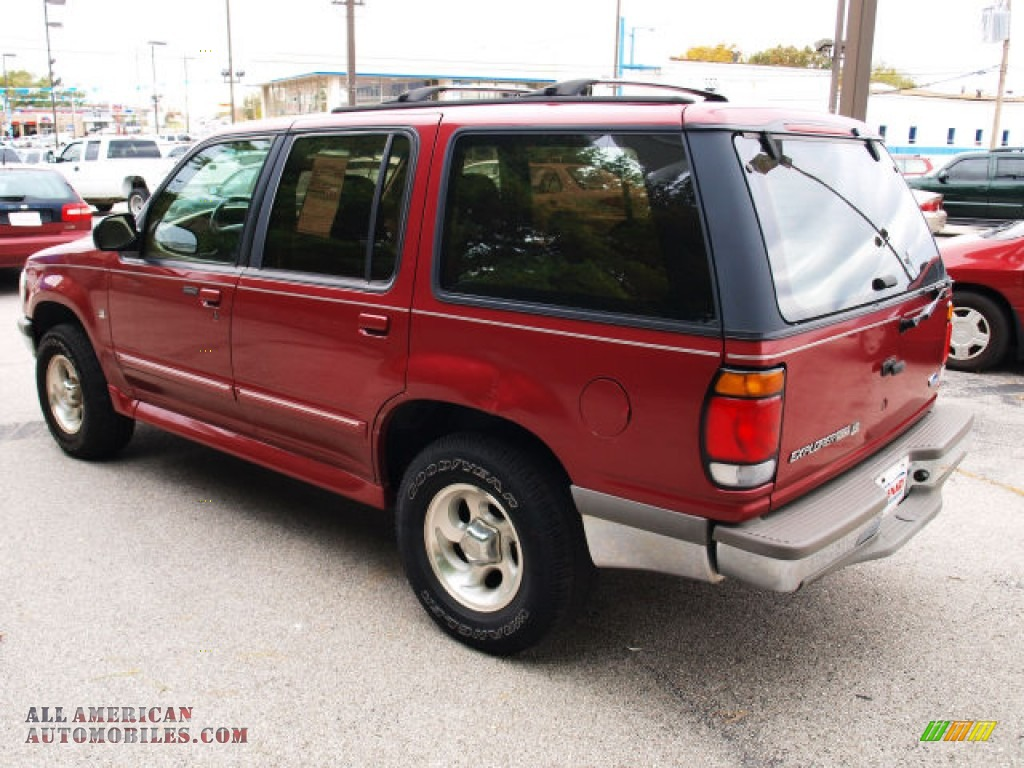 1996 ford explorer xlt 4x4 in electric red metallic photo 4 c81779 all american automobiles. Black Bedroom Furniture Sets. Home Design Ideas