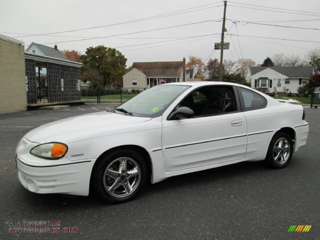 Blue Ridge Auto Sales >> 2002 Pontiac Grand Am GT Coupe in Arctic White - 261208 | All American Automobiles - Buy ...