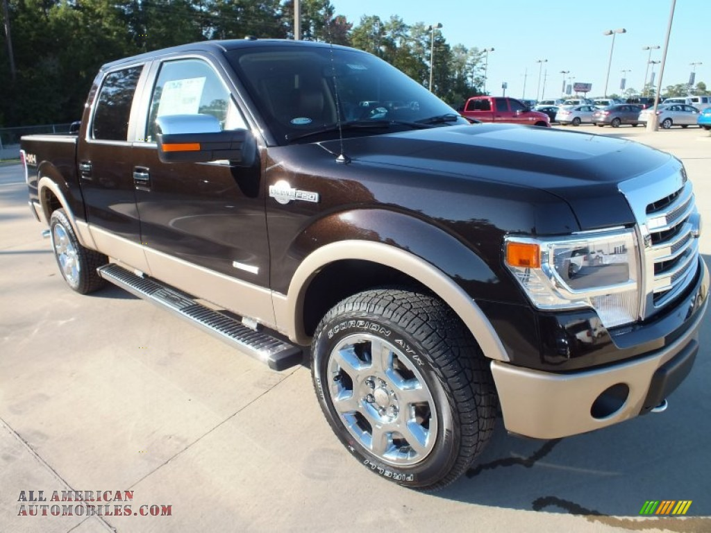 2013 F150 King Ranch SuperCrew 4x4 - Kodiak Brown Metallic / King