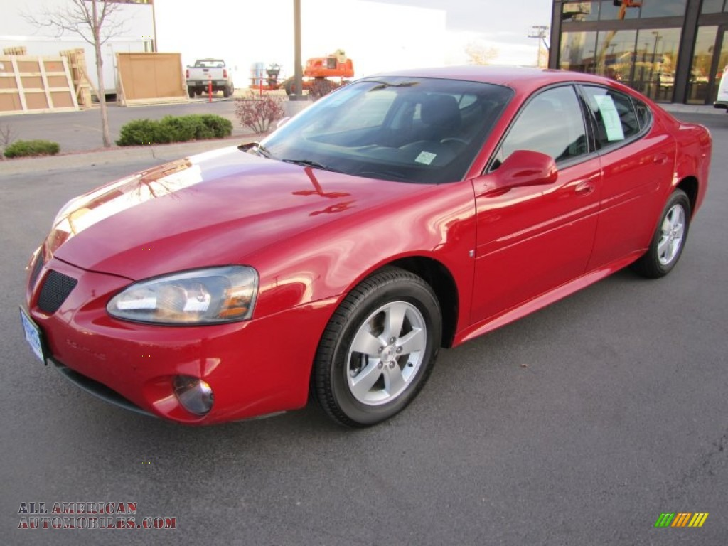 2008 Pontiac Grand Prix Sedan In Crimson Red Photo 5